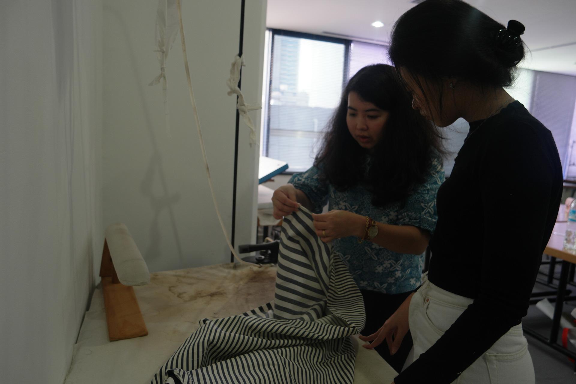 Esmod Jakarta Course Make Your Own Wrap Dress Esmod Jakarta